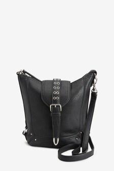 Hardware Detail Across-Body Bag