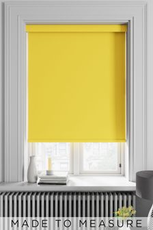 Haig Lemon Yellow Made To Measure Blackout Roller Blind