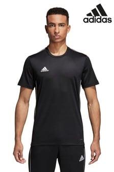 adidas Black Core 18 Jersey T-Shirt