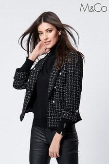 M&Co Bouclé Jacket