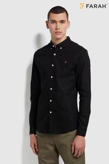 Farah Black Brewer Shirt