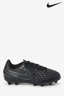 Nike Black Tiempo Club FG Junior & Youth Football Boots