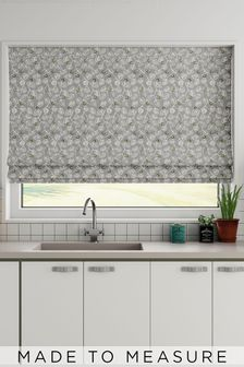 Leya Silver Yellow Made To Measure Roman Blind