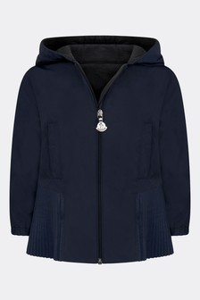 Baby Girls Navy Eudokie Jacket