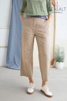 Seasalt Brown Pebbly Shore Trousers