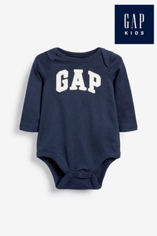 Gap Bodysuit mit Logo, Marineblau