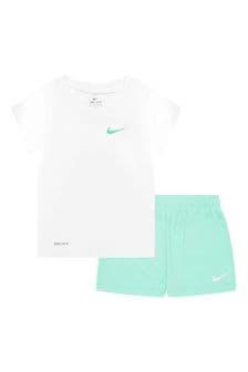 Nike Girls White Set