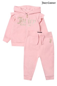 Juicy Couture Glitter Hoody & Jogger Set