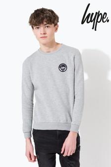 Hype. Crest Kids Crew Neck Sweater