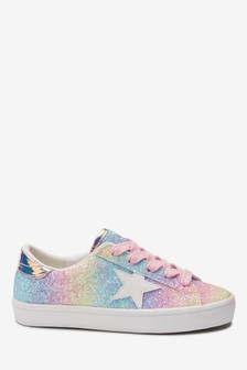 Star Lace-Up Trainers (Older)