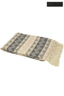 Aztec Zig Zag Throw by Riva Home