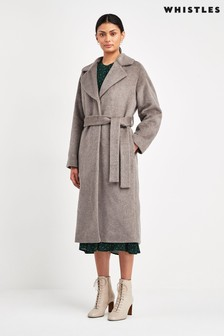 Whistles Darcey Belted Coat