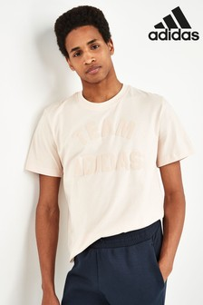 adidas Cream Varsity Team T-Shirt