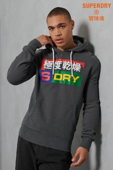 Superdry Port And Starboard Brushed Hoody