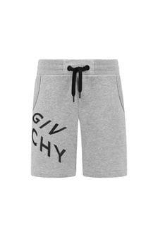Givenchy Kids Boys Cotton Shorts