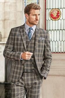 Slim Fit Suit: Jacket