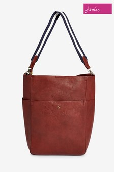 Joules Wayfield Bright PU Bucket Bag