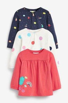 3 Pack Bright Tops (0mths-2yrs)