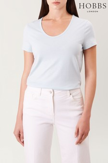 Hobbs Pale Blue Alys T-Shirt