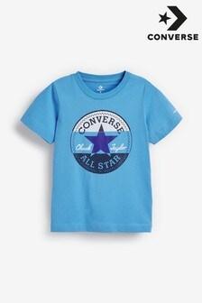 Converse Boys Chuck Patch Triple Split T-Shirt