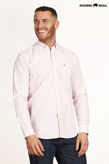 Raging Bull Pink Signature Gingham Shirt