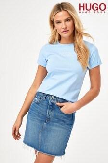 HUGO The Slim Tee 6 Blue T-Shirt