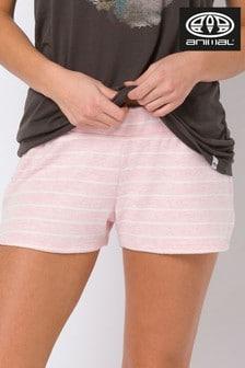 Animal Pink Vennet Sweat Shorts