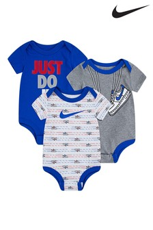 Nike Baby Body Suits 3 Pack