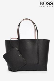 BOSS Taylor Black Shopper Bag