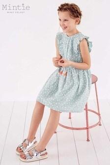 Mintie by Mint Velvet Green Star Print Summer Dress