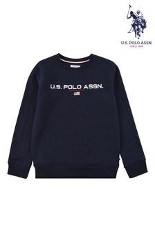 U.S. Polo Assn Bluesport Crew Neck Sweat Top