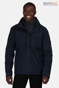 Regatta Blue Shrigley 3-In-1 Waterproof Jacket