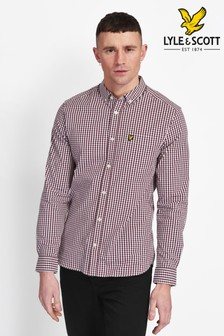 Lyle & Scott Slim Fit Gingham Shirt