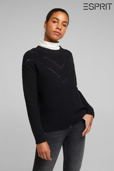 Esprit Black Basic Sweater