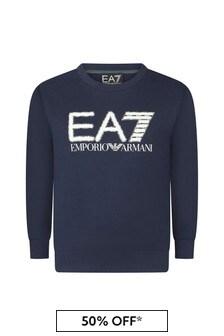 EA7 Emporio Armani Cotton Sweater