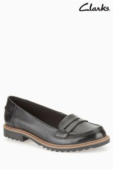 Clarks Leather Griffin Milly Loafer