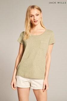 Jack Wills Olive Fullford T-Shirt