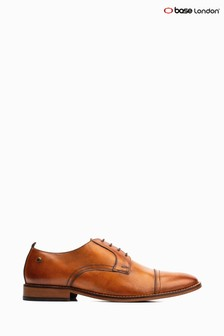 Base London® Tan Trailer Lace-Up Shoe