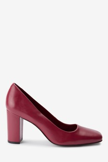 Дизайнерские туфли-лодочки с квадратным носом