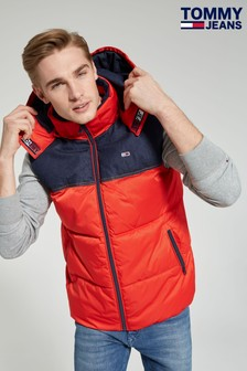 Tommy Jeans Fabric Mix Gilet