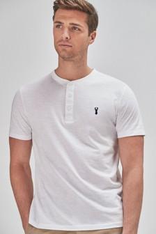 Regular Fit Grandad T-Shirt