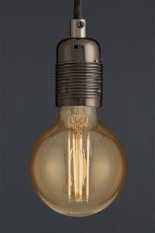 4W ES LED Retro Globe Bulb