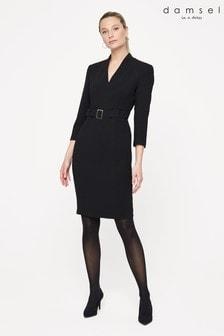Damsel In A Dress Black Lydia City Dress