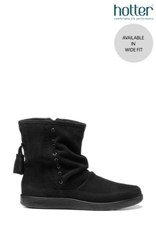 Hotter Pixie Wide Fit Zip Fastening Ankle Boots