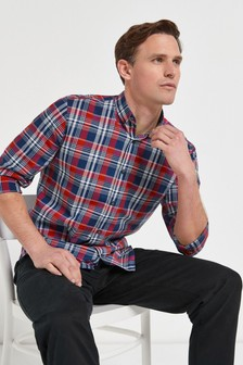 Roll Sleeve Check Shirt