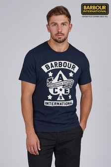 Barbour® International Steering Graphic T-Shirt