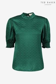 Bluză cu mânecă bufantă Ted Baker Tiarie