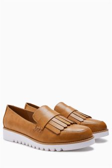 EVA Fringe Loafers