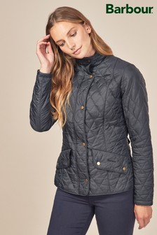 Barbour® Navy Cavalry Flyweight Jacket