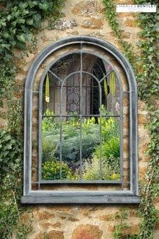 Premium Arch Garden Mirror by Charles Bentley